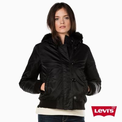 Levis 女裝 羽絨服外套 連帽設計