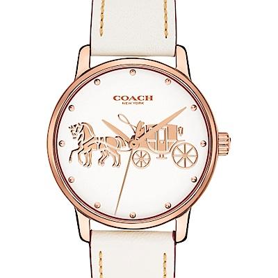 COACH 閃耀佳人馬車腕錶/ 14502973
