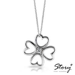 STORY故事銀飾-16個夏天 幸福好運純銀項鍊