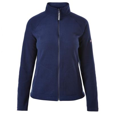 【Berghaus 貝豪斯】女款刷毛保暖外套H22FP8-深藍