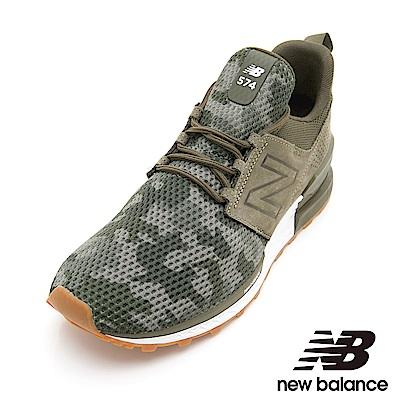 New Balance 574復古鞋 MS574DCG男性軍綠