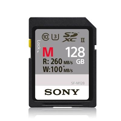 SONY SDXC R260W100 UHS-II U3高速存取記憶卡 128GB