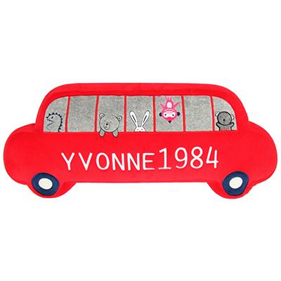 Yvonne-Collection禮車造型抱枕-紅