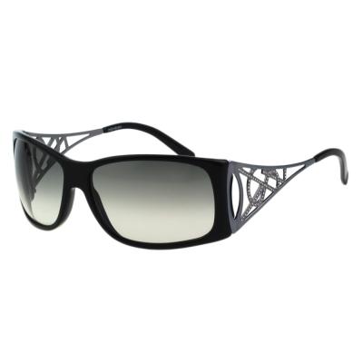 YSL-時尚太陽眼鏡(黑色)