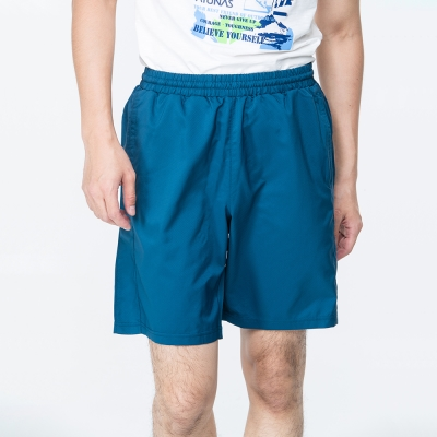 【ATUNAS 歐都納】男款防曬抗菌抗臭彈性休閒五分短褲 A-PA1717M 藍