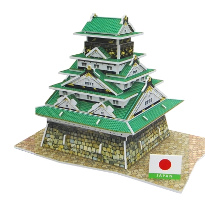 世界之窗 3D立體拼圖 日本-大阪城 3D World Style