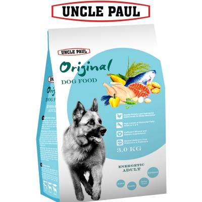 UNCLE PAUL 保羅叔叔田園生機狗食 3kg 高能成犬