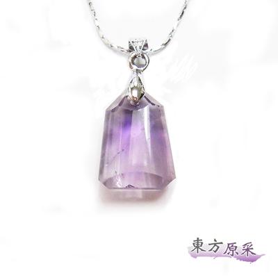 東方原采-好姻緣紫水晶鐘型項鍊