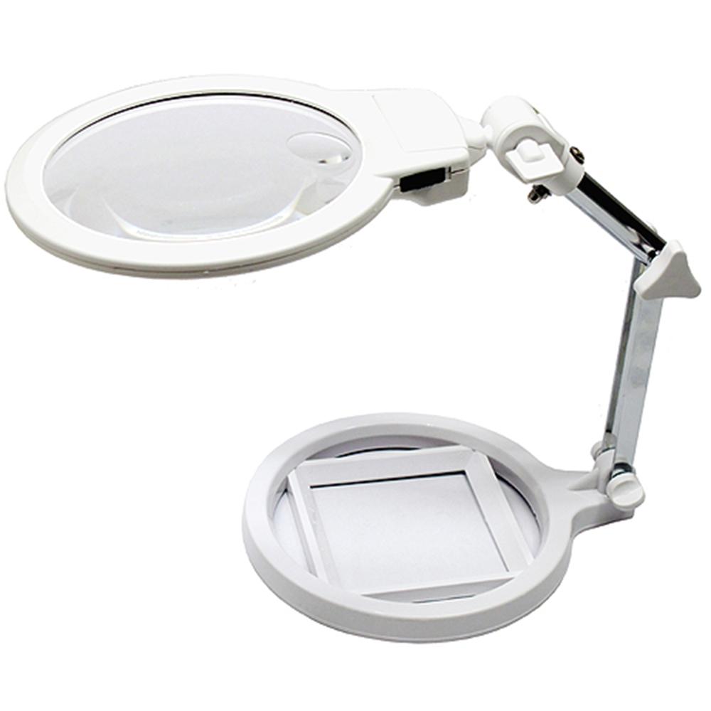 125mm鏡面超白光LED放大鏡閱讀燈