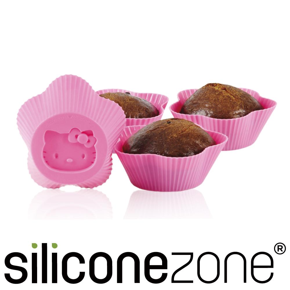 Siliconezone 施理康Hello Kitty杯子蛋糕模-粉色