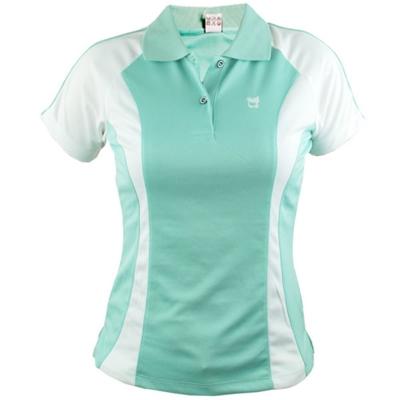 【遊遍天下】女款抗UV吸濕排汗機能POLO衫MS012綠