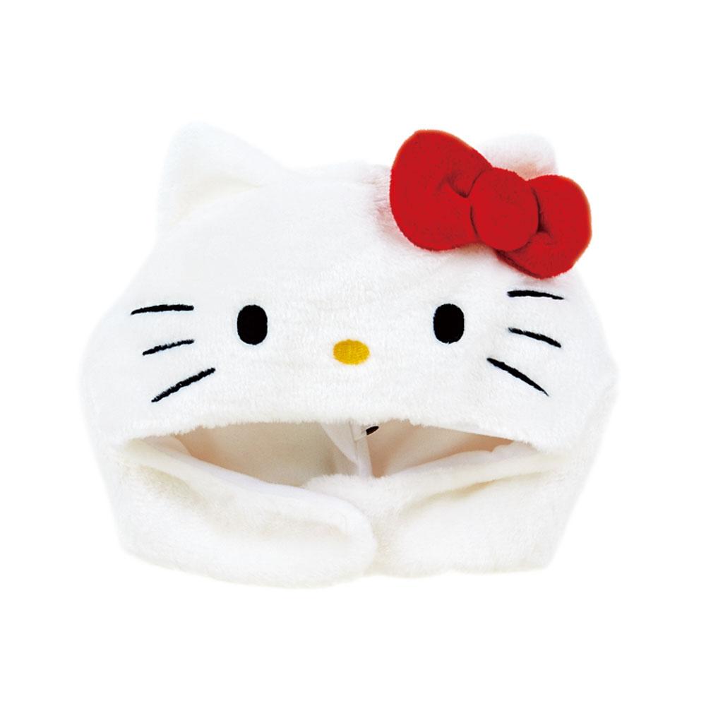Sanrio HELLO KITTY絨毛裝扮造型帽