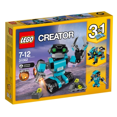 LEGO樂高 3合1創作系列 31062 探險機器人 (7Y+)