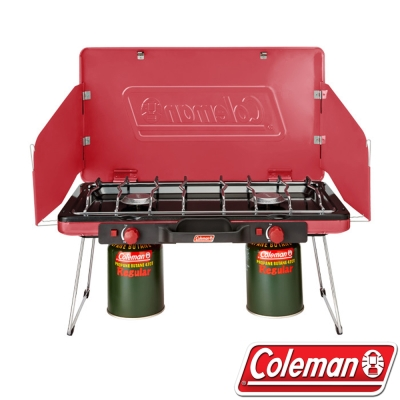 Coleman美國 CM-31231瓦斯雙口爐
