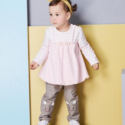 Disney baby 瑪麗貓系列俏耳朵彈力長褲 (共2色)