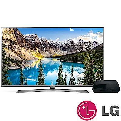 LG樂金 55型 4K IPS UHD液晶電視 55UJ658T + OVO B5 電視盒