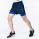 【ATUNAS 歐都納】男款運動假兩件式彈性短跑褲 A1-PA1725M 深藍 product thumbnail 1
