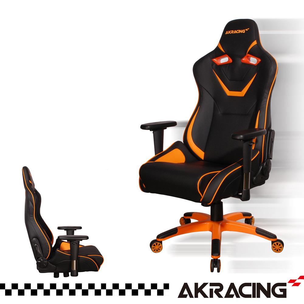 AKRACING超跑賽車椅頂級筒型款-GT555 月黑之時 大魔神