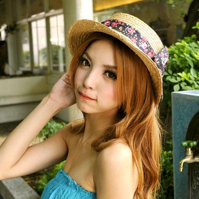 【Aimee Toff】日系甜美女孩遮陽帽(黑)
