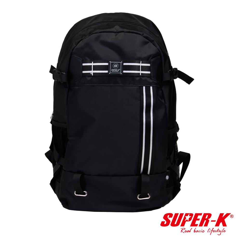 美國品牌【SUPER-K】背部透氣多功能休閒背包☆超值有型(SHB21525)