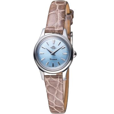 Rosemont 茶香玫瑰系列 輕巧復古時尚腕錶-咖啡/22mm
