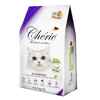 法麗Cherie 有機凝結杉木貓砂 10L 兩包組