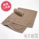 日本桃雪綁頭毛巾超值兩件組(淺咖啡色) product thumbnail 1