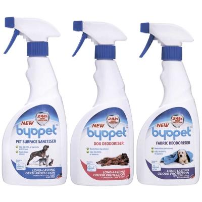 Byopet 消毒清潔噴劑 寵物專用乾洗噴劑 布製品除臭消毒噴劑