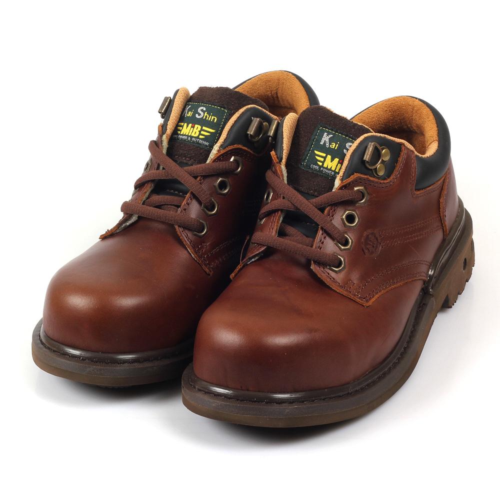 Kai Shin 安全工作鞋 咖啡色 MGA574A03
