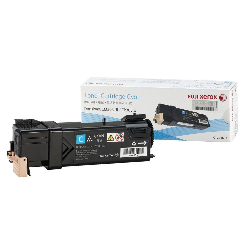 【福利品】FujiXerox富士全錄 CT201633 原廠藍色碳粉匣
