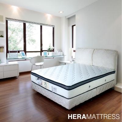 HERA Dorcas PU護邊乳膠三線獨立筒床墊  雙人加大6尺