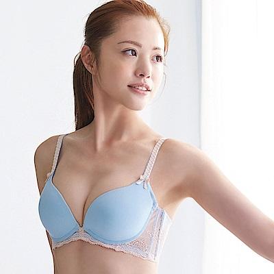蕾黛絲-呼吸真水B-D罩杯內衣-天空藍
