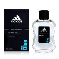 Adidas 愛迪達 ICE DIVE 品味透涼男性淡香水 100ml