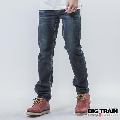 BIG TRAIN 和柄達磨小直筒-男-深藍