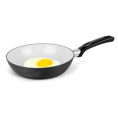 樂扣樂扣 HARD&LIGHT系列輕鬆煮大理石不沾平底鍋/20CM(IH底) (8H)