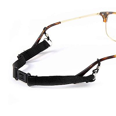 (2入)可調大小(鬆緊) 卡扣式眼鏡防滑帶 眼鏡防掉落繩 (成人兒童適用)