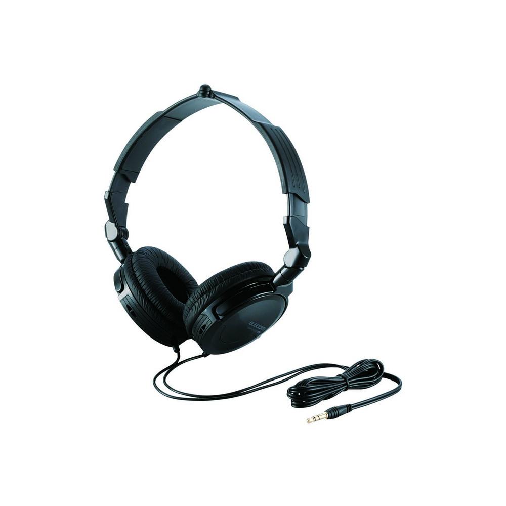 【ELECOM】OH500頭戴式可折疊耳機