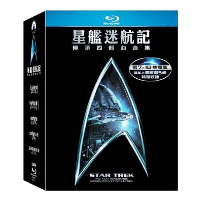 星艦迷航記 Star Trek (07-10) (套裝) 藍光 BD