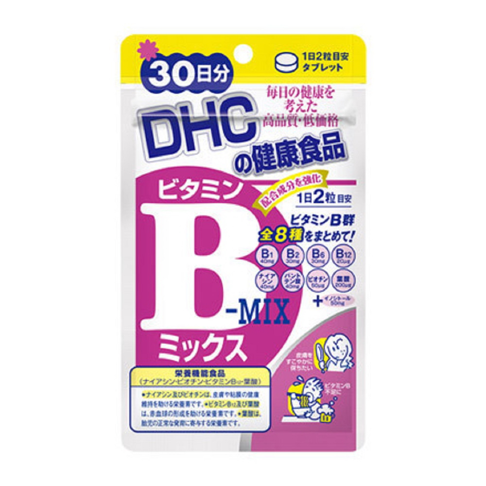 DHC 維他命B群(200mg*60粒) product image 1