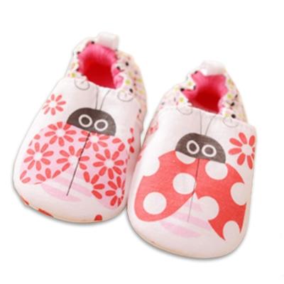 純棉軟底防滑嬰兒學步鞋【 2 雙入】