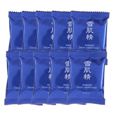 KOSE 高絲 雪肌精晶透潤白潔顏皂(10GX10)