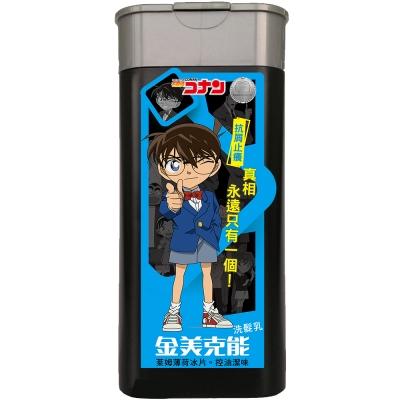 金美克能 控油潔味洗髮乳 柯南限量版(萊姆薄荷冰片) 180ml
