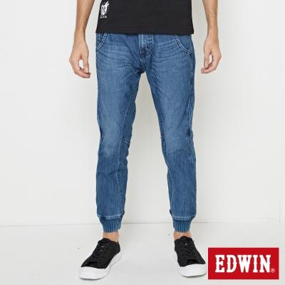 EDWIN AB褲 迦績褲JERSEYS3D束口褲-男-中古藍