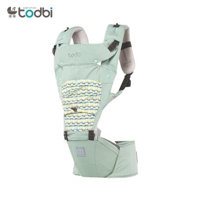 【麗嬰房】TODBI AIR MOTION blossom有機棉氣囊坐墊背巾(淺綠)