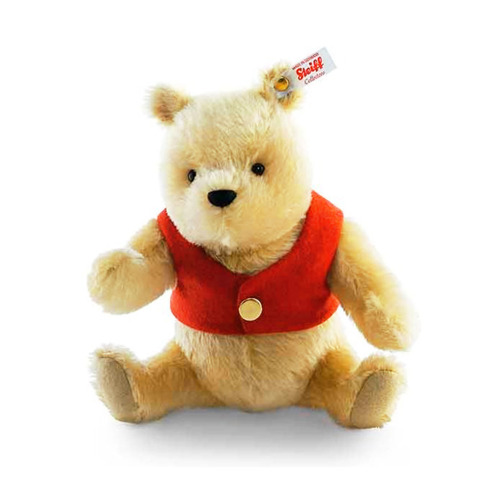 STEIFF德國金耳釦泰迪熊 - Winnie the Pooh (限量版)