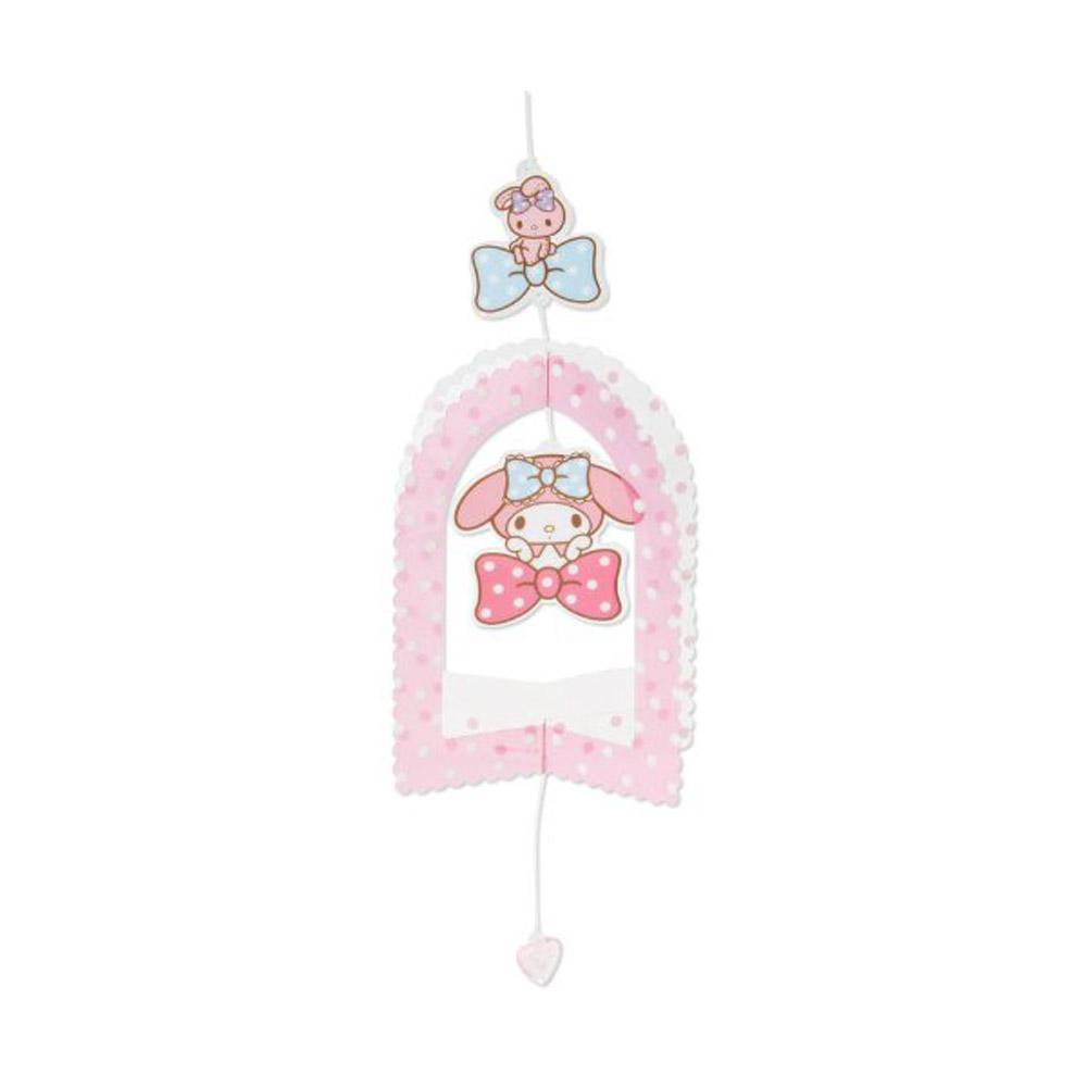 Sanrio 美樂蒂清爽透明垂掛吊飾