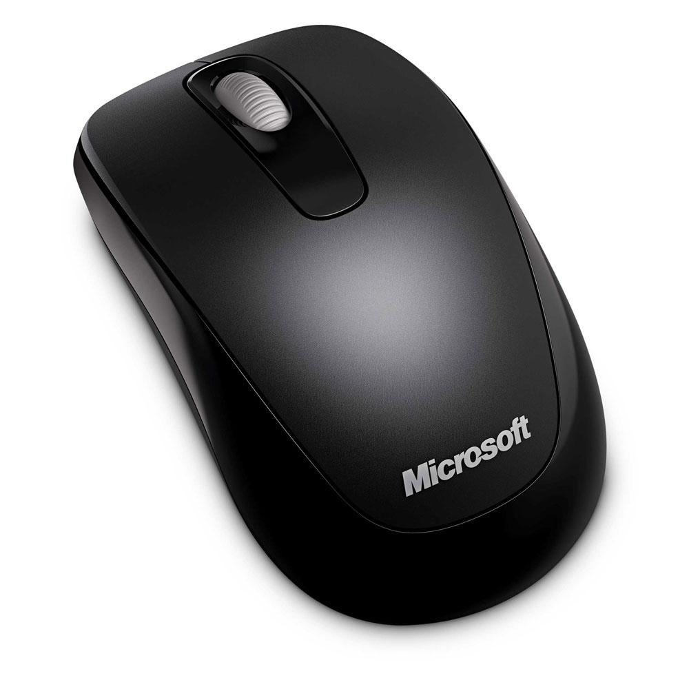 Microsoft 無線行動滑鼠 1000(黑色)