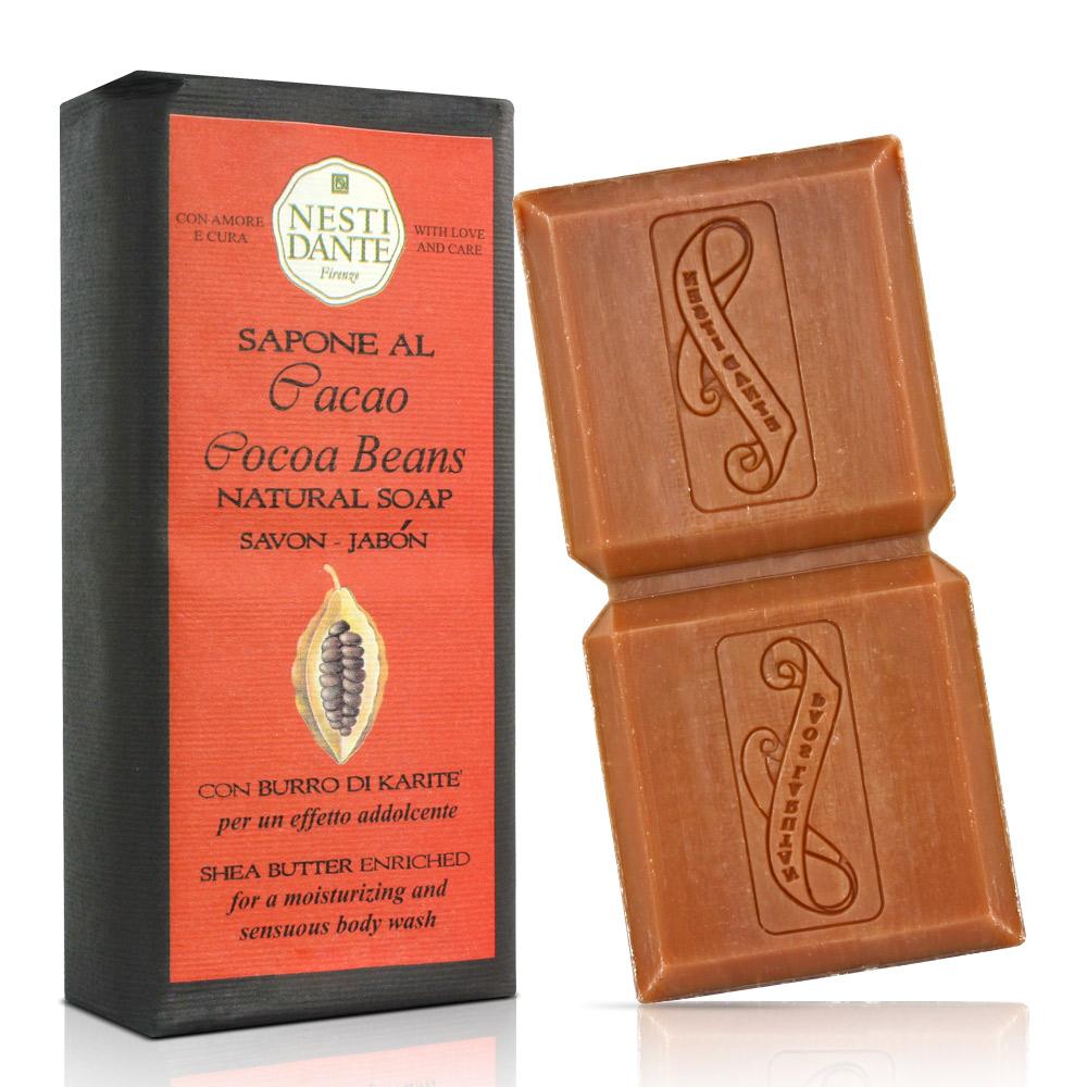 Nesti Dante 乳木果油巧克力系列-黑巧克力皂(200g)X2入