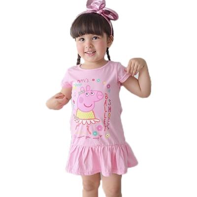 粉紅豬小妹純棉連身裙 k50137