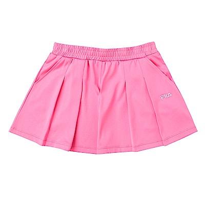 FILA KIDS 女童吸濕排汗短褲-桃紅 5SHS-4444-PC